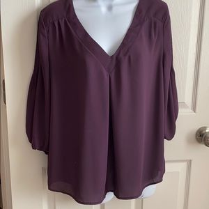Pretty purple blouse
